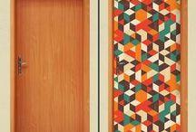 Portas Interiores em madeira / Portas interiores em madeira
