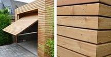 Casas de Madeira / Casas em ambiente natural e construídas em madeira