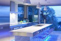 Iluminação / Iluminação LED de mobiliário, em especial cozinhas, Roupeiros e Casas de banho.