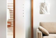 Portas de correr interiores em madeira