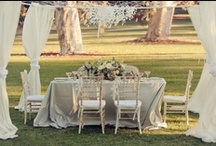 Rustic White Wedding Styling