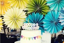 Parties / I love to throw parties but making them special can be a challenge. This board is a collection of fun, easy, inexpensive ways to step up your party game.