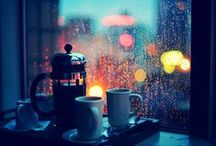 RAIN | TEA | LOVE | HAPPY / It's the little things that matter the most / by Piniel S