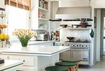 Kitchen - Energize / Sharp, crisp colors that keep you engaged and awake.