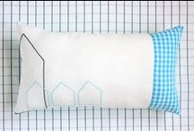 Embroidered handmade by Katia Graeff / Textil design