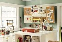 Craft Room (My She-Cave!) / Organization, home decor, and inspiration for your Craft Room or Office.  Great for anyone who does crochet, sewing, knitting, jewelry making, quilting, or any other craft or DIY. / by Sincerely Pam