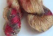 Yarn, Yarn and more Yarn! / Gorgeous hand dyed, hand spun and commercial yarns. / by Sincerely Pam