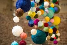 Yarny Crafts / DIY Crafts that you and your kids can make using yarn or other fibre related materials. / by Sincerely Pam