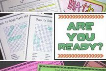 Back to School Ideas / Back to school ideas for your upper elementary or middle school classroom. Get your room set up, create a class community, and get to know your students with these activities and TPT resources. Great for 4th, 5th, 6th, 7th, and 8th grade classrooms.