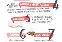 Tips para nuestra piel / Cuidar nuestra piel de forma saludable y a tenerla muy bella.