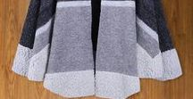 DIY handmade shawl & Jacket