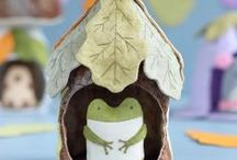 Fairy houses, Fairies and Gnomes Inspiration / Fairy houses, fairies and gnomes