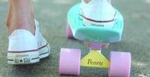 Pennyboardy / O jazdení na pennyb.
