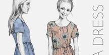Project Board - Orla Dress