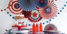 4th of July / Inspirational, DIY and Recipes