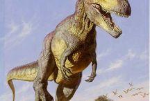 Dinos and prehistoric animals