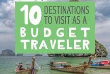 Budget Travel / How to travel on a budge   Budget Travel Tips   Travel Tips   Cheap Travel www.travelforyourlife.com