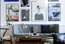 For the Home / Things I love for my home: color palettes, furniture, accessories & design elements/ideas.