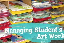 Tips to Manage the Art Room and Cart