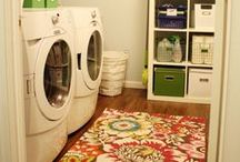 For the Home: Laundry Room / Laundry room organization tips and decorating ideas for the home. / by Kasey Trenum
