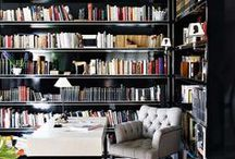 Library / Essentially rooms with a lot of books / by Helene Tardif