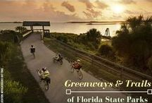 "Greenways and Trails / Recipient of the American Trails' inaugural award as ""Best Trails State in America"", our greenways and trails provide the best of what nature has to offer!"