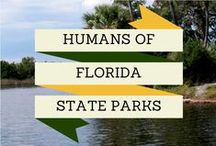Humans of Florida State Parks / Our volunteers make Florida State Parks shine. Whether they're removing invasive plants, leading a guided paddling trip or cleaning up litter around the park, we appreciate the service and dedication of all our volunteers! See their stories on our Humans of Florida State Parks board.