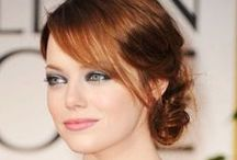 Emma 'Spiderman' Stone Hair Looks! / Emma Stone is a natural blonde, but became America's sweetheart as a wise-cracking redhead.