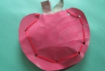 Johnny Appleseed/Apple crafts / by Melissa Jensen