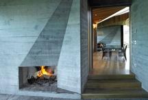 Interior design - fireplace