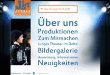 Projektscreens JUST - Junges Spiel Theater, Ludwigshafen / Relaunch der Website des JUST - Junges Spiel Theater, Ludwigshafen, mit TYPO3 CMS im November 2012