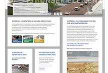 Projektscreens SOPREMA-KLEWA GmbH / Relaunch des Internet Auftritts der SOPREMA-KLEWA GmbH, Mannheim mit dem TYPO3 CMS im Oktober 2012