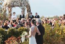 Autumn Hudson River Wedding