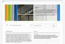Projektscreens ZI Mannheim