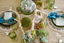 Eco Friendly Wedding Decor / Eco-Friendly Inspirations in honor of Earth Day
