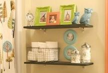 For the Home: Kids Bathroom / Kids bathroom decorating and organization ideas for the home. / by Kasey Trenum