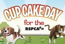 RSPCA Cupcake Day / RSPCA national Cupcake Day is a delicious way to support the thousands of animals the RSPCA care for every day. For more info and to register: http://www.rspcacupcakeday.com.au/