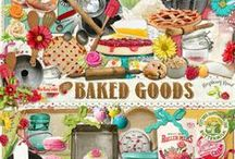 Baked Goods Collection / A baking themed collection filled with lots of goodies for you. / by Raspberry Road Designs