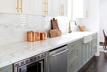 Kitchens / Inspiration for the kitchen in our next home.    / by Kristen Camareno