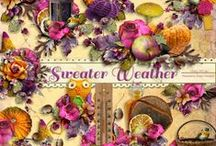 Sweater Weather Collection / A warm and fuzzy fall themed collection. / by Raspberry Road Designs
