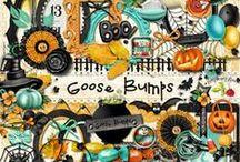 Goose Bumps Collection / A not-so-spooky fun Halloween themed collection.