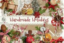 Handmade Holidays / A wonderful Christmas kit that celebrates the beauty of the handmade gift during the Holiday season.