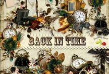Back In Time / A huge heritage themed scrapbook collection filled with everything you need for a family history album or book.