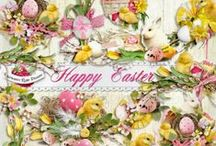 Happy Easter Collection / A beautiful Easter/Spring themed scrapbook collection from Raspberry Road Designs. / by Raspberry Road Designs