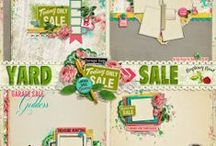 Yard Sale Scrapbook collectionCollection / A yard sale themed scrapbook collection from Raspberry Road. / by Raspberry Road Designs