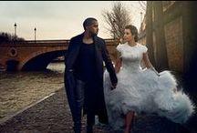 Kimye / Celebrity Wedding of the Year! http://www.secretsalons.com/magazine/10-celebrity-world-weddings-for-2014/