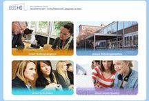 Projektscreens BBS HS, Ludwigshafen / Relaunch der Website www.sozhw-bbslu.de im responsive Design mit TYPO3 CMS