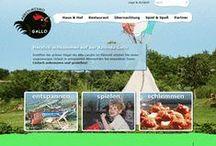 Projektscreens Agriturismo Gallo, Italien / Relaunch der Website agriturismogallo.de im responsive Design mit TYPO3