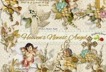Heaven's Newest Angel Scrapbook Kit / A sympathy themed scrapbook kit but good for many religious themed projects.  / by Raspberry Road Designs