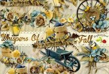 Whispers Of Fall Scrapbook Collection / A beautiful Fall themed digital scrapbook collection from Raspberry Road Designs. / by Raspberry Road Designs